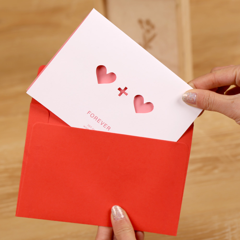 Buy The Cube Diy Creative Gifts Handmade Hollow Greeting Cards