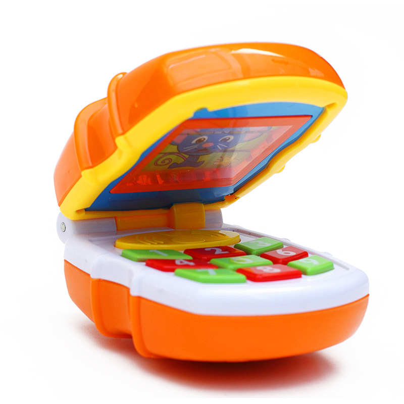 The department of music children's toy phone telephone years old baby flip phone music phone early childhood machine early childhood machine
