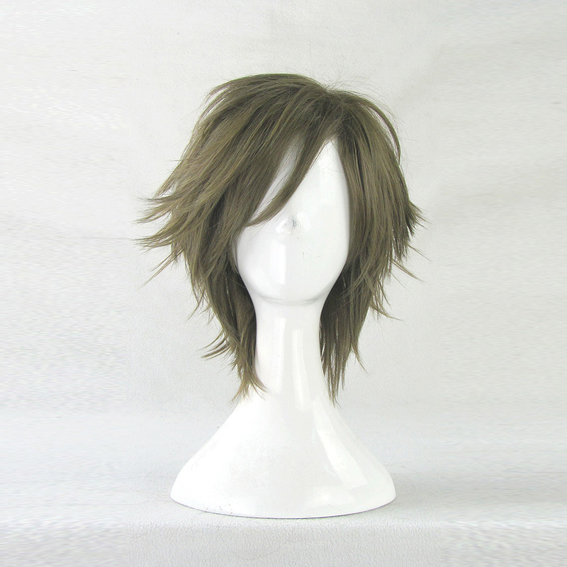 The magic cosplay wig anime prince of tennis seigaku kunimitsu tezuka alice turned green short hair