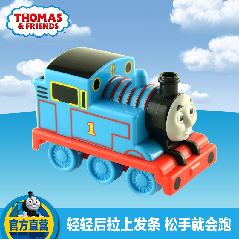 The new back of the train r9493 thomas and friends children's early childhood educational inertia toy car booster