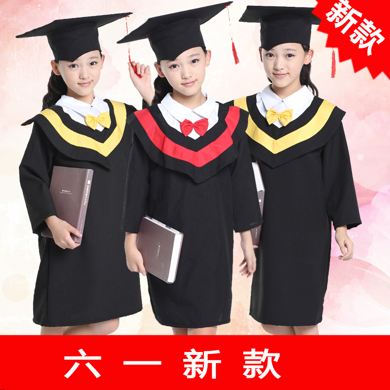 The new children's clothing clothes dance costumes kindergarten bachelor of service dr. day section primary school students performing service graduation dress