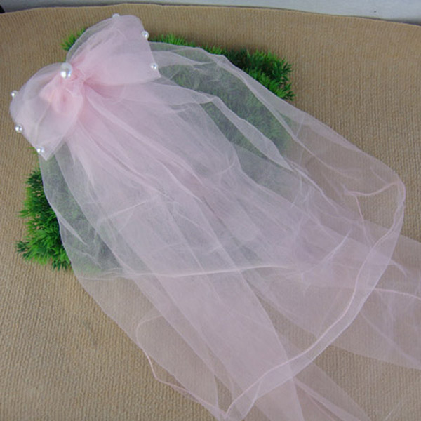 The new flower girl princess tiara veil veil girls costumes veil children 2 color options