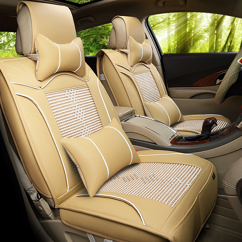 The new ice silk car seat thicker gt4 series bmw 5 series 6 series bmw 7 series 1 series 3 series car Seat seat seat 22