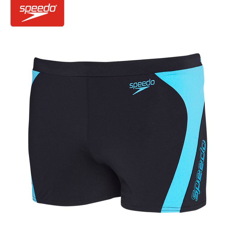 The new speedo male boxer swim trunks leisure training wear male swimsuit sexy positive article 512116