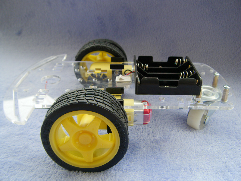 The new two rounds of avoidance smart car chassis robot tracing car/barrier kit/with encoder