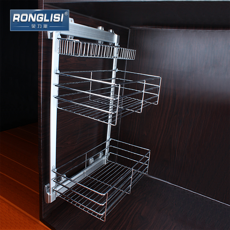 The new wing of the andean stainless steel side mounted storage basket kitchen cabinets kitchen cabinets baskets baskets damping slide