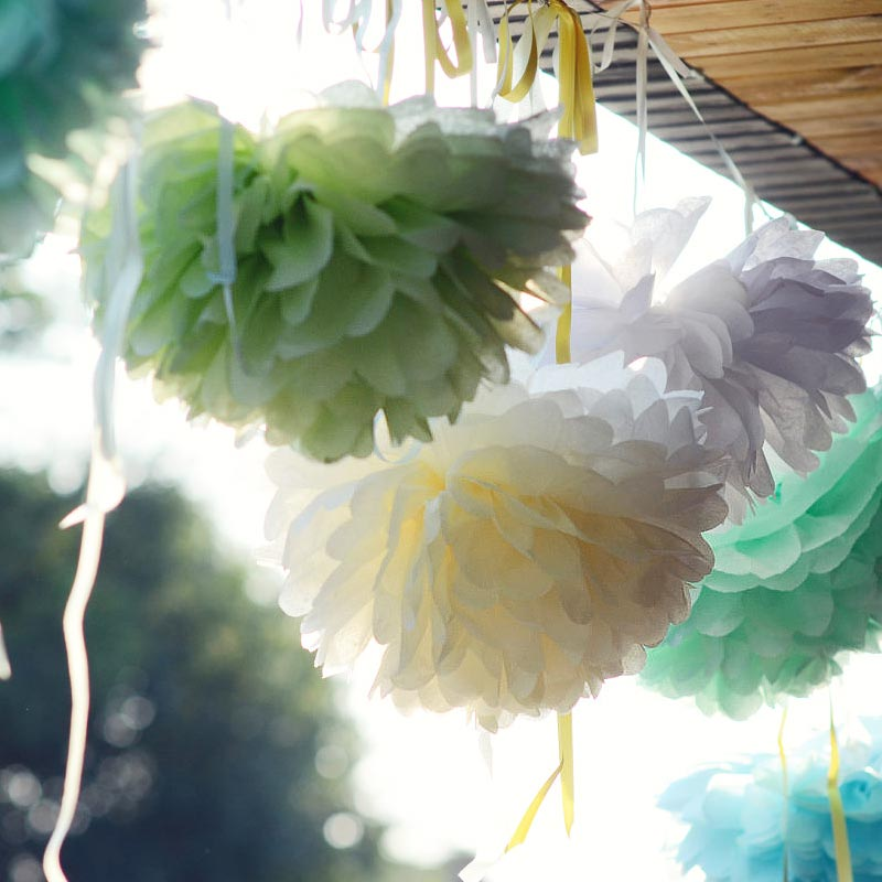 The number of infants and children's new home decorative paper flower ball wedding decoration wedding birthday party garland wedding supplies material