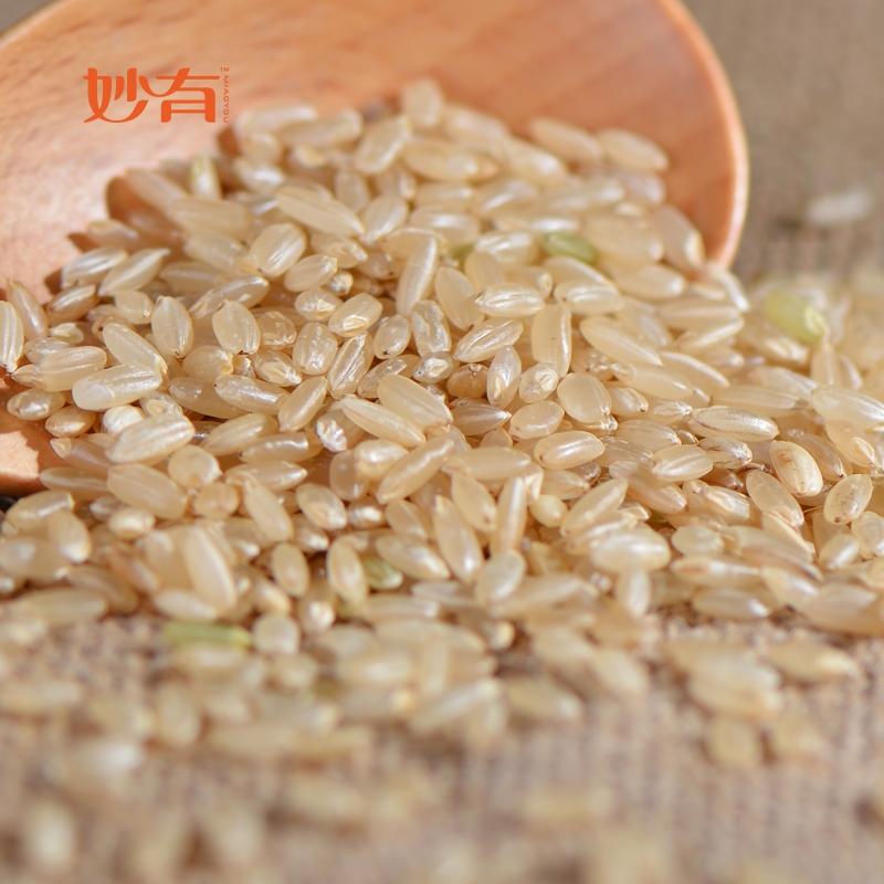There are wonderful g organic brown rice northeast wuchang rice flower organic new organic brown rice brown rice new grain cereals
