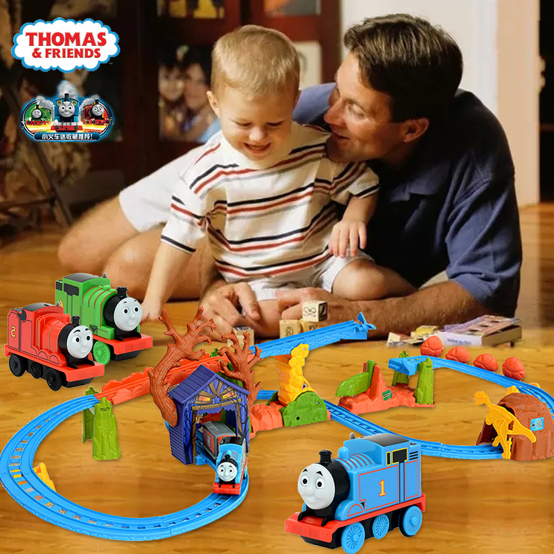 Thomas electric rail car train toy train track suit in the first seven years old male child boy toy