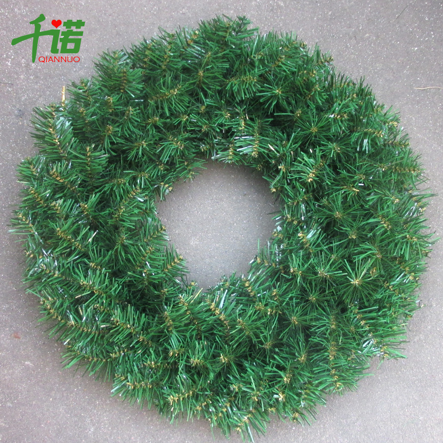 Thousands of connaught christmas decorations 50cm green encryption christmas wreath christmas decorations christmas tree christmas wreaths