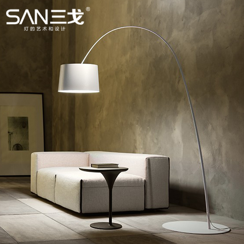 Three ge new twiggy terra nenmiao floor lamp fishing lamp modern minimalist living room study