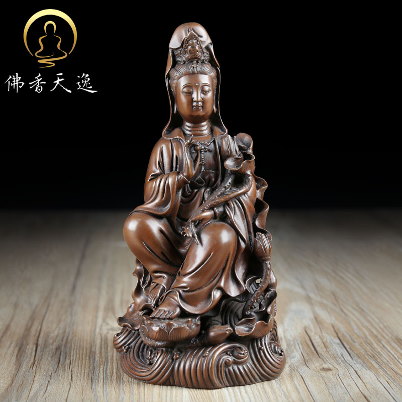 Tianyi copper copper copper statue of avalokitesvara bodhisattva avalokitesvara bodhisattva buddhist worship at home ornaments buddhist supplies