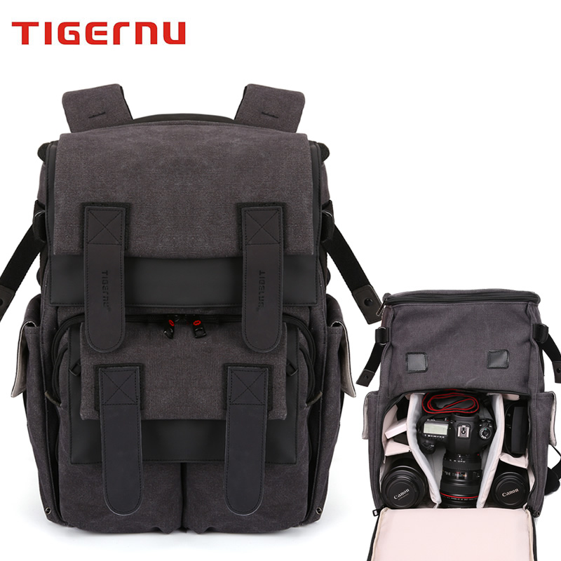 Tiger slave shoulder slr camera bag camera bag canon nikon professional camera bag outdoor men and women