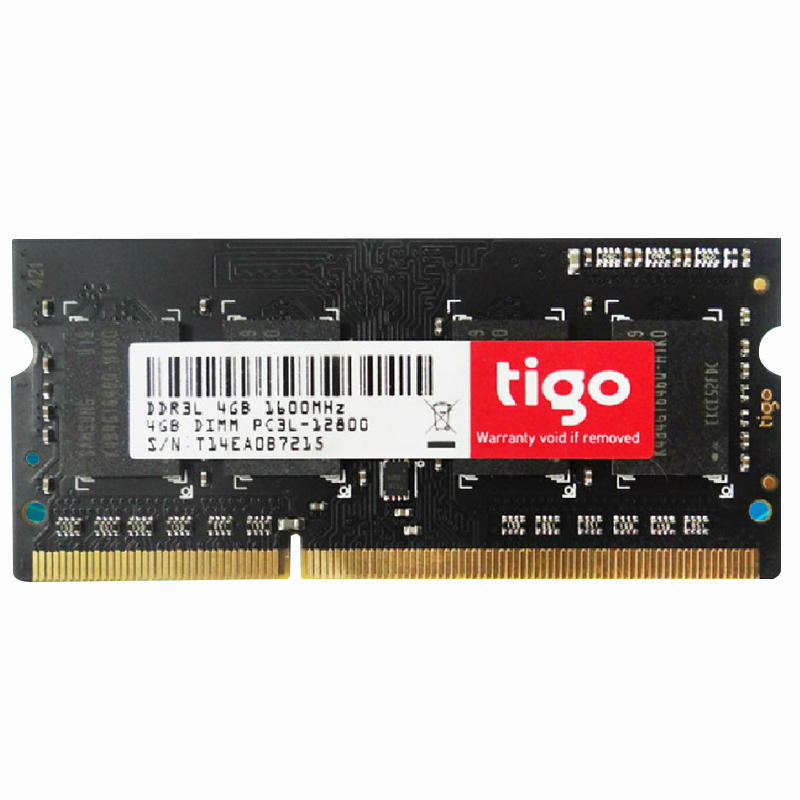 Tigo/kingtiger notebook 4g ddr3l 1600 low voltage notebook memory compatible 1333
