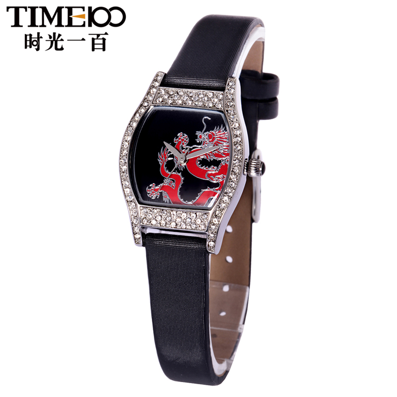 Time100/time one hundred ladies watches diamond ladies watch waterproof quartz watch