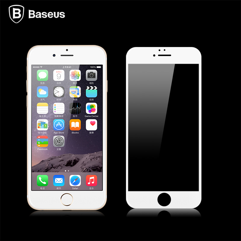 Times thinking herculite iPhone6SPlus corning glass fullscreen tempered glass membrane film 5.5 steel membrane film 0.2mm