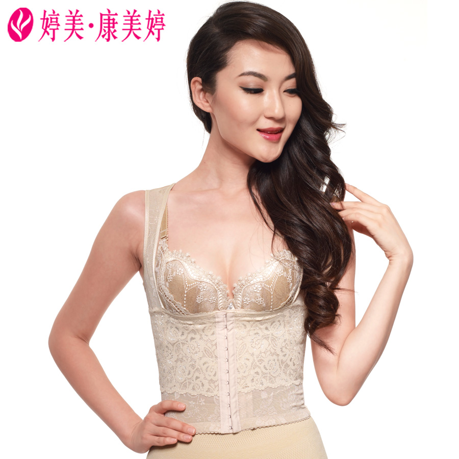 Ting mei kang meiting adjustable body sculpting clothing abdomen postpartum body shaping tops anti sagging correction humpback