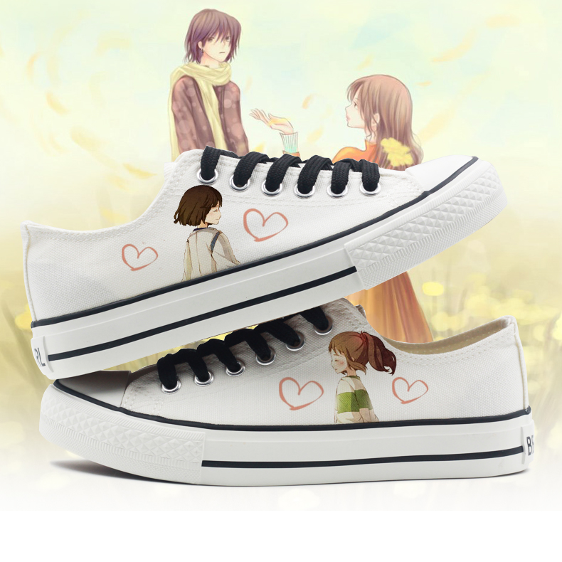 69d8746a24b0 Buy Modern men and women couple canvas shoes to help low student flat  canvas shoes women shoes summer single shoes white shoes women shoes tide  in Cheap ...