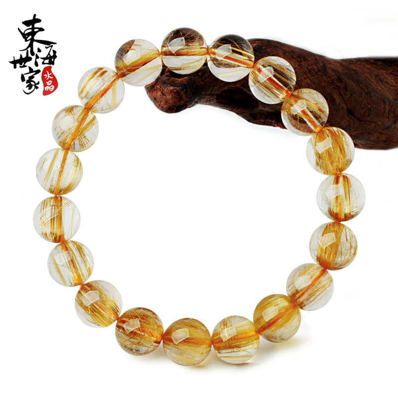 Tokai family blond titanium crystal bracelet ms. male hair crystal crystal fashion jewelry bracelets a diagram of a thing