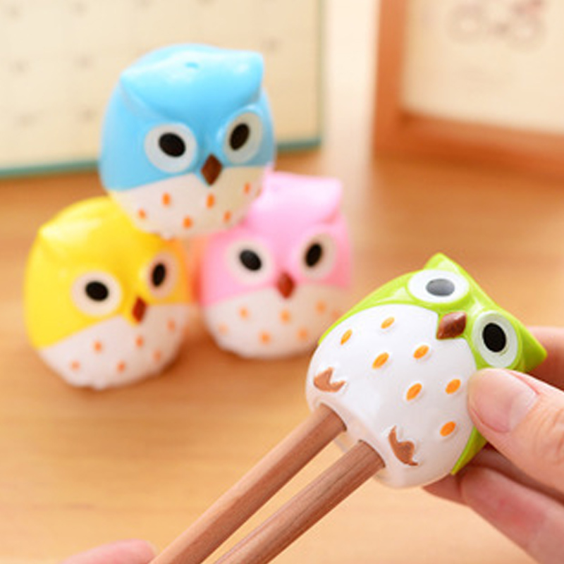 Too adorable rabbit korean fashion creative cute owl meng things pencil sharpener pencil sharpener pencil sharpeners pupils