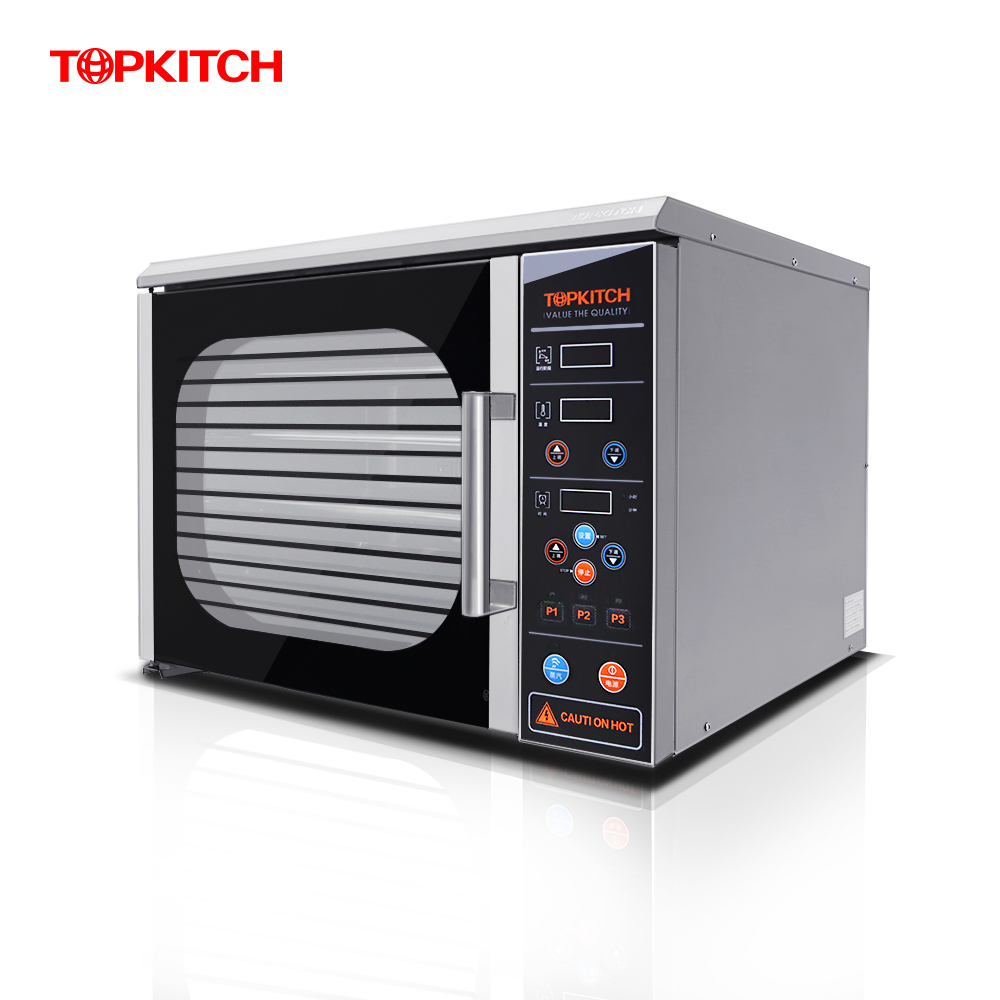 Topkitch commercial oven with timer large oven pizza oven hot air circulation oven baked bread cake