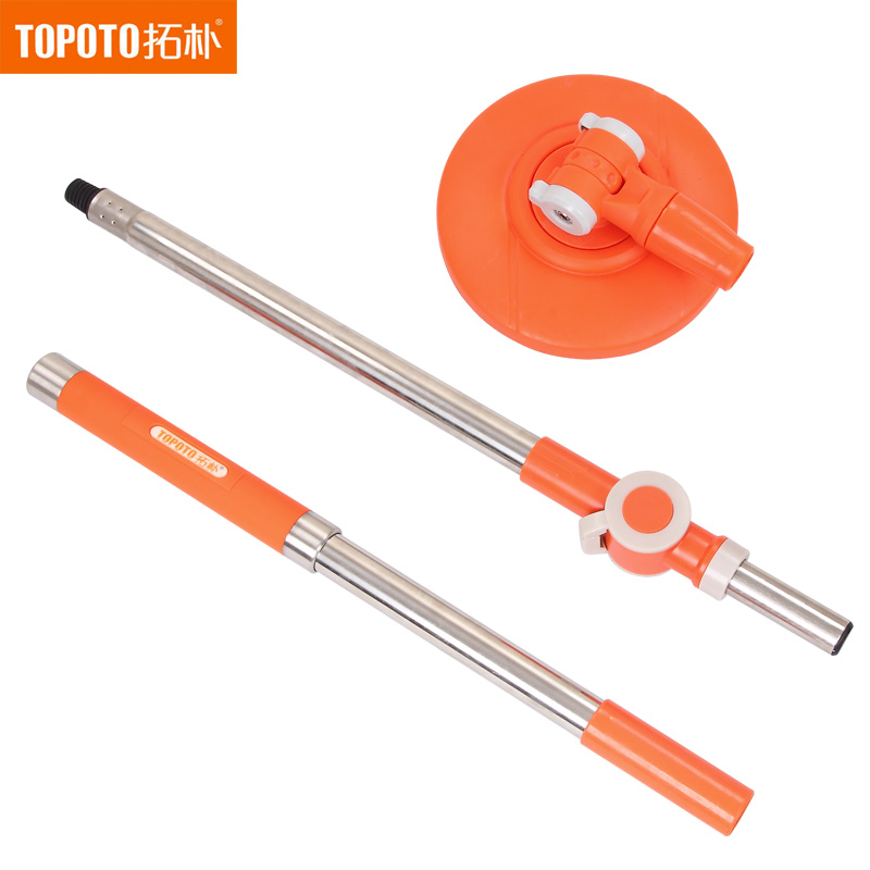 Topology rotating mop accessories hand pressure mop pole mop mop four drive topology mop mop pole
