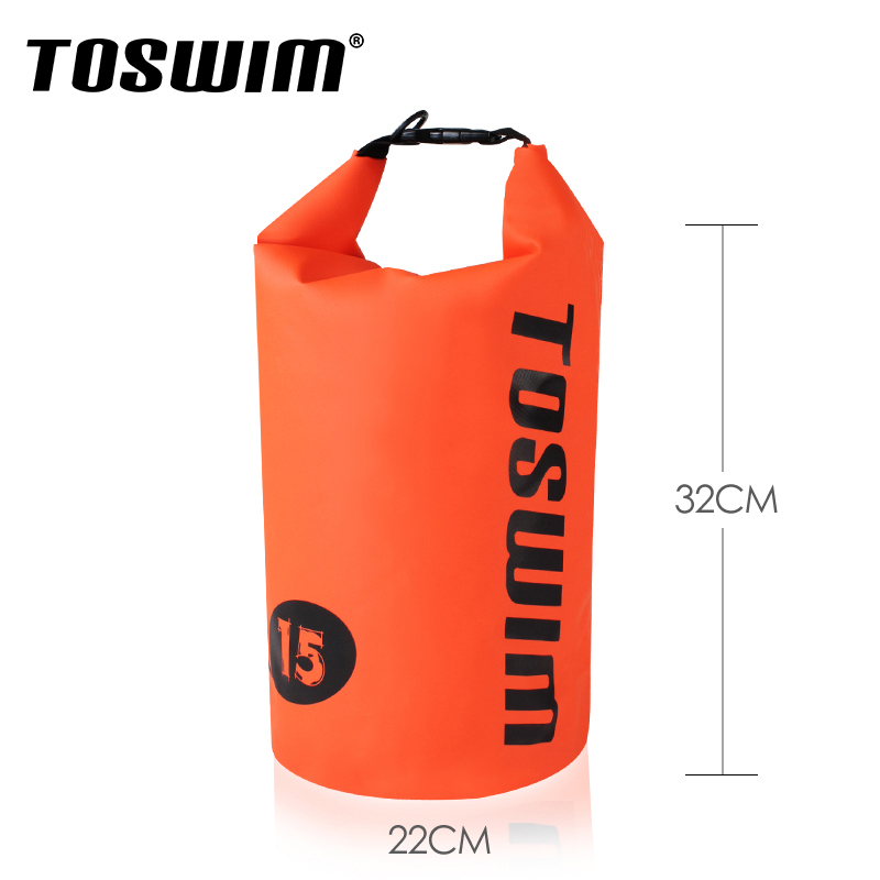 Toswim billiton wins swimming waterproof bag beach bag waterproof storage bag waterproof bag swimming bag swimming bag of wet and dry separation of men and women