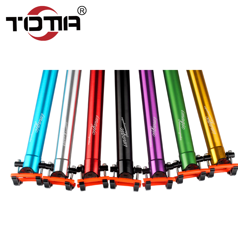 Totta bike mountain bike bicycle accessories lightweight aluminum seat tube seatpost seatpost 33.9*600