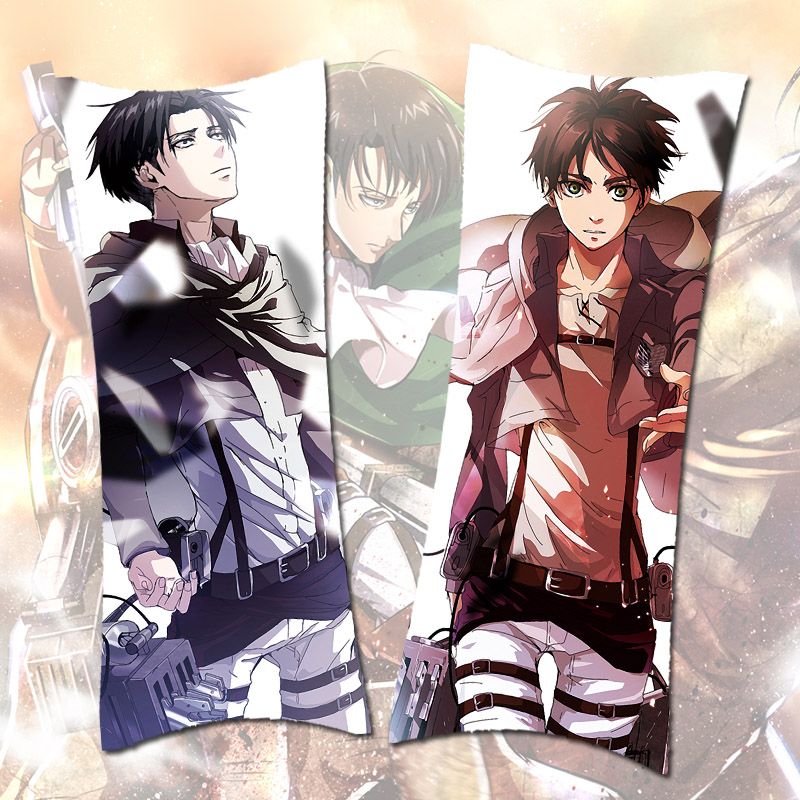 Tour odd original attack on titan li weier soldiers long anime pillow pillow long pillow pillow dengshen pillow