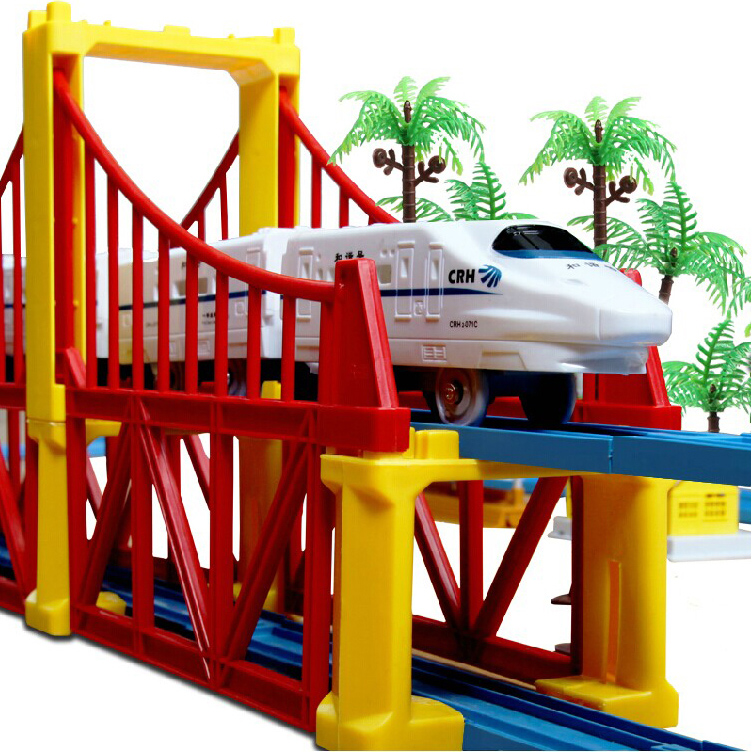 Toy train harmony emu high speed rail and 2 toys for children under the age of boys charging large electric model
