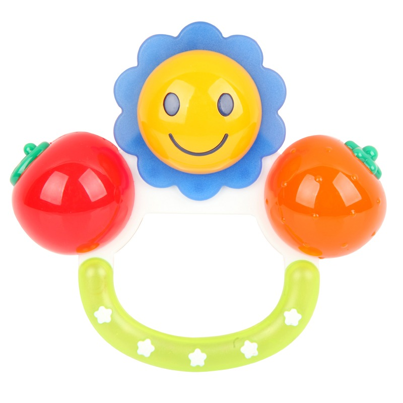 Toyroyal japanese imperial family toy fruit rattles infants and young children safe and nontoxic