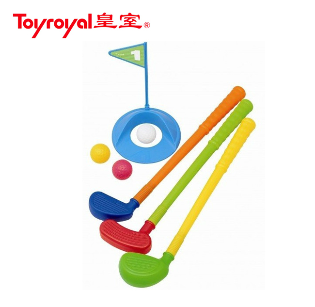 Toyroyal royal children's bowling ball 7514/golf 7516 shipments moving toy ball fitness and leisure