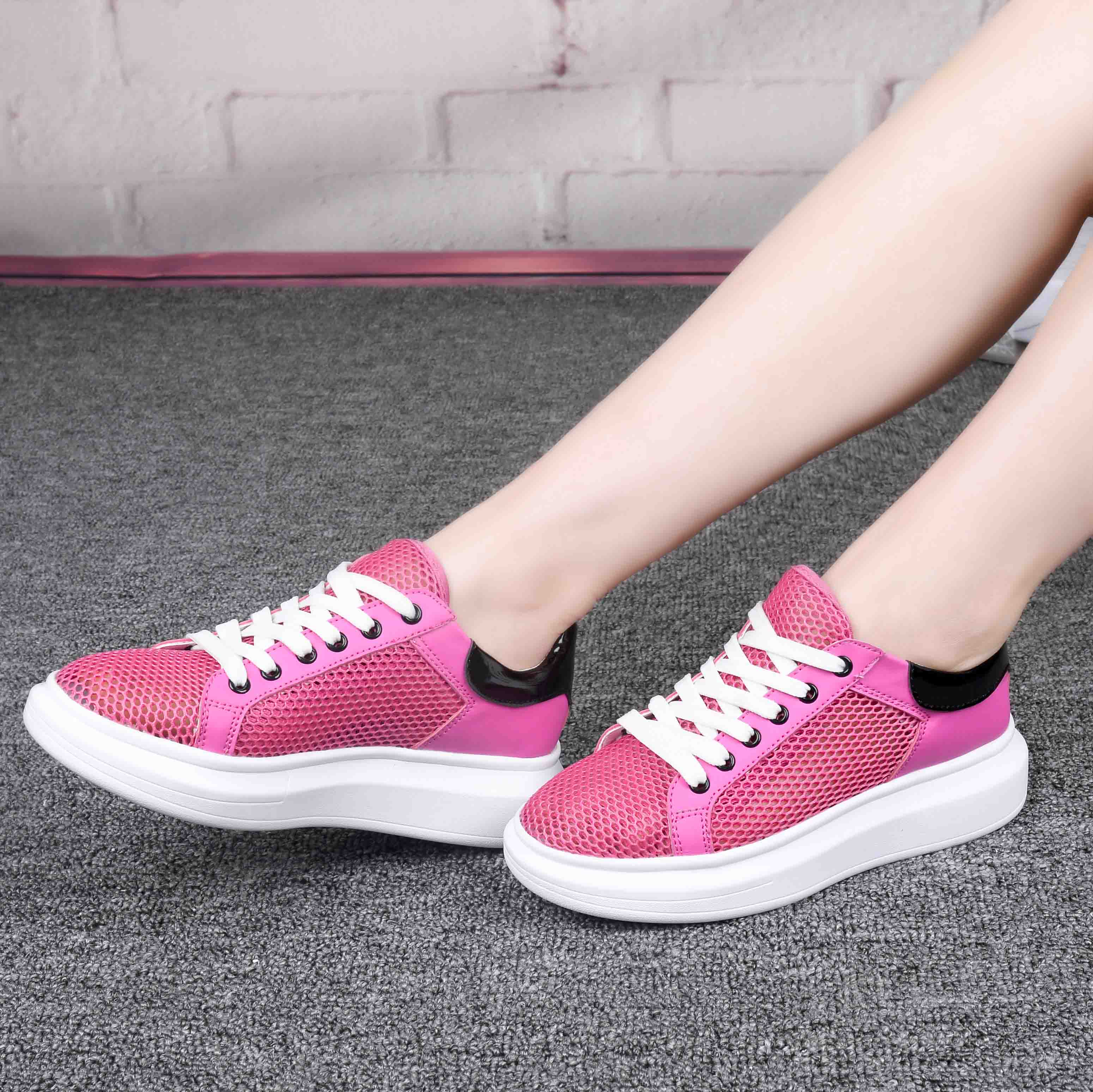 Tpxn/deep sydney 2016 spring and autumn korean version of white shoes women shoes thick crust muffin shoes sports shoes women shoes