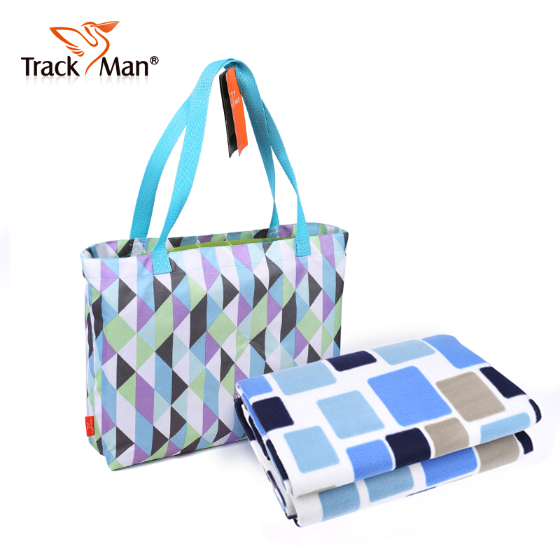 Trackman moisture pad outdoor portable camping picnic mat super thick velvet couple cushion 150*180 cm