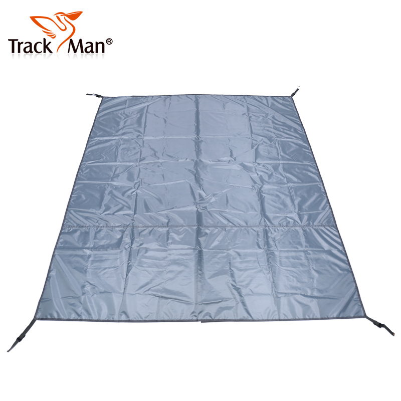 Trackman ziyou ren outdoor tent ground cloth mat moisture pad picnic mat oxford 6310