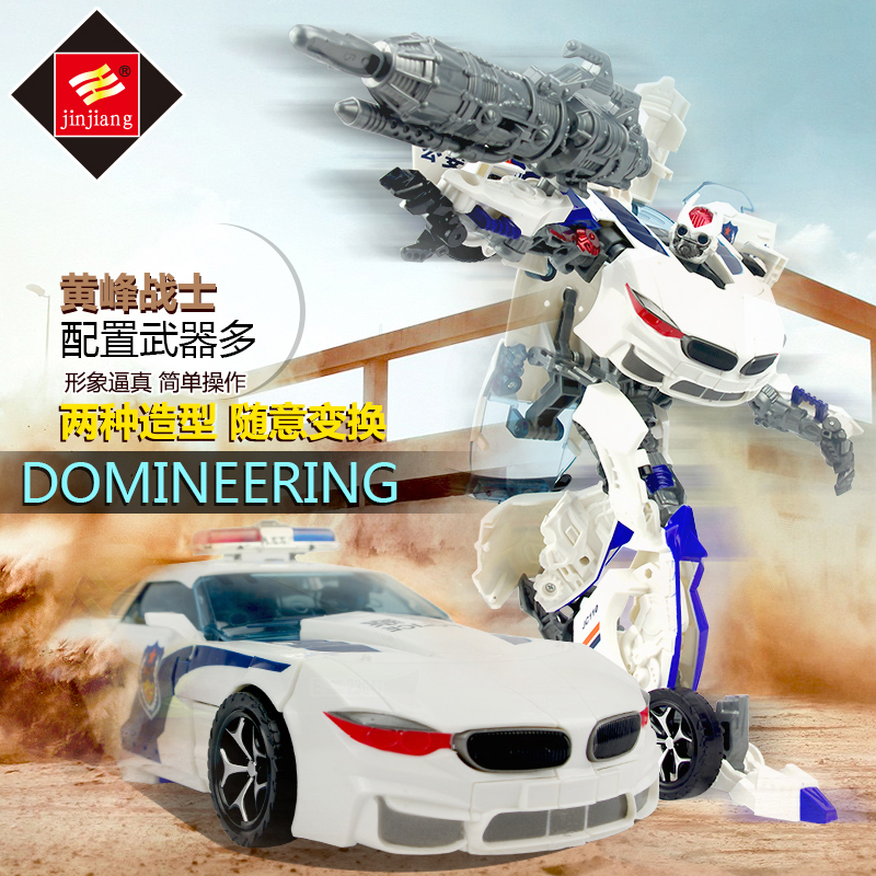 Transforming toys diamond 4 queen bmw autobots bumblebee robot model boy toys for children gift