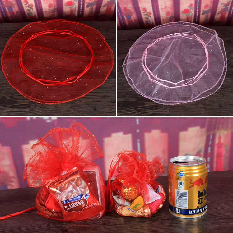 Tree road treasure wedding supplies wedding candy bags creative gift bag ferrero luo disc snow yarn bags