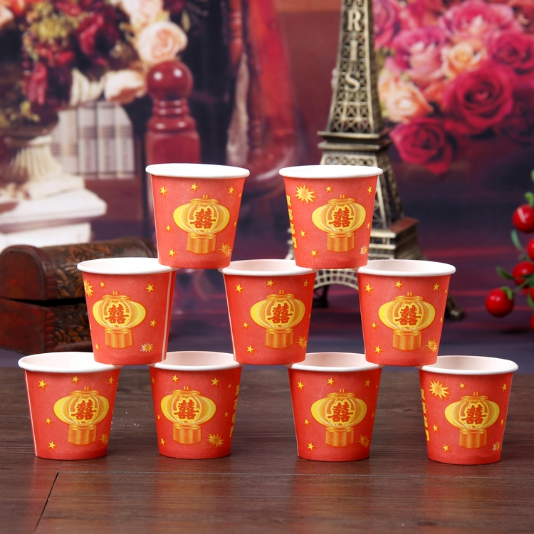 Tree road treasure wedding supplies wedding wedding arrangements wedding decoration wedding celebration disposable small toasting cup tasting Cup