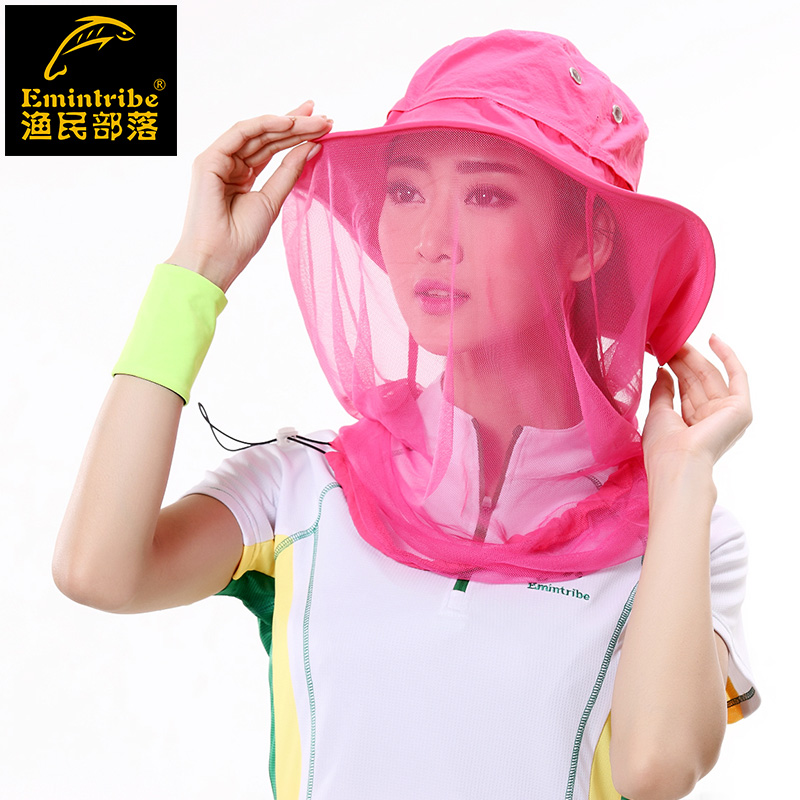 5a8df9cb847 Get Quotations · Tribal fisherman outdoor tourism uv mosquito hat sun hat  fisherman hat men and women sun hat