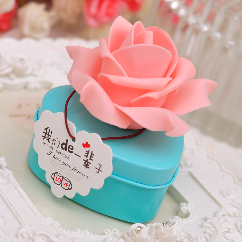 Trick heart candy box candy box creative wedding candy box wedding gift box wedding candy box tin horses mouth