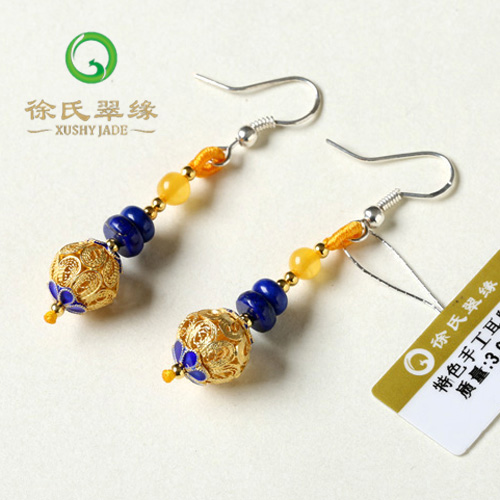 Tsui tsui edge natural crystal jewelry earrings features handmade bulk