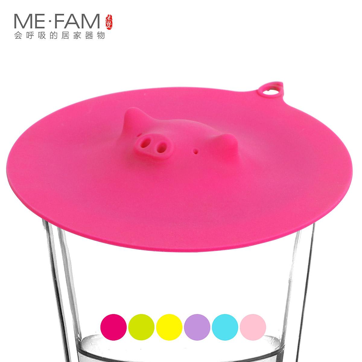 Get Quotations · Tuba creative cute korean cartoon cup lid ceramic cup glass mug cup lid silicone leak toxic
