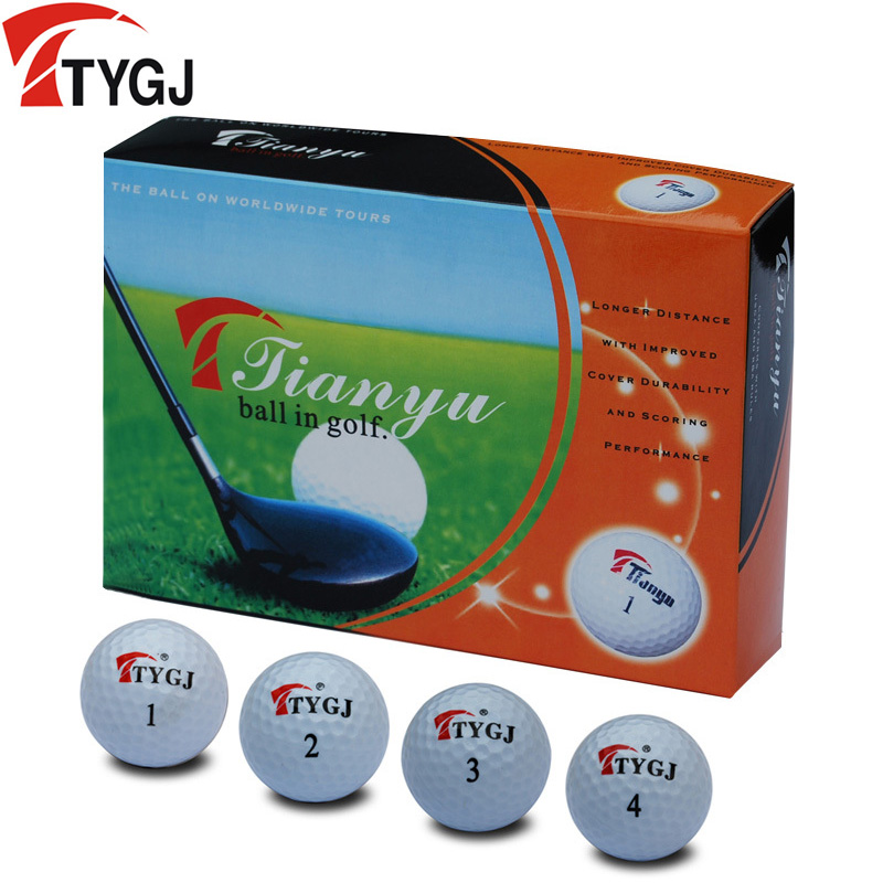 Tygj authentic golf ball golf ball double practice balls golf ball distance ball boxed 1 box