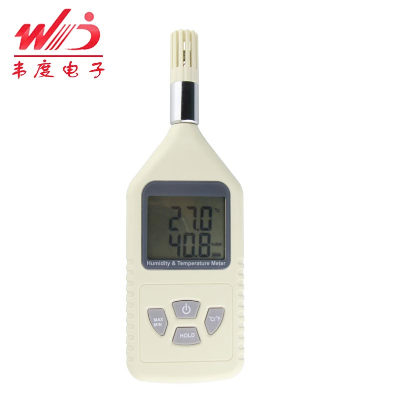 Uélé 361-degree WW-50 electronic household thermometer hygrometer digital hygrometer temperature and humidity table digital display