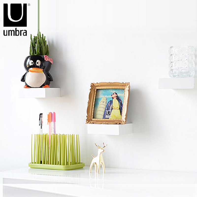 Get Quotations Umbra Showcase Display Rack Simple Wall Decor Shelf Partition