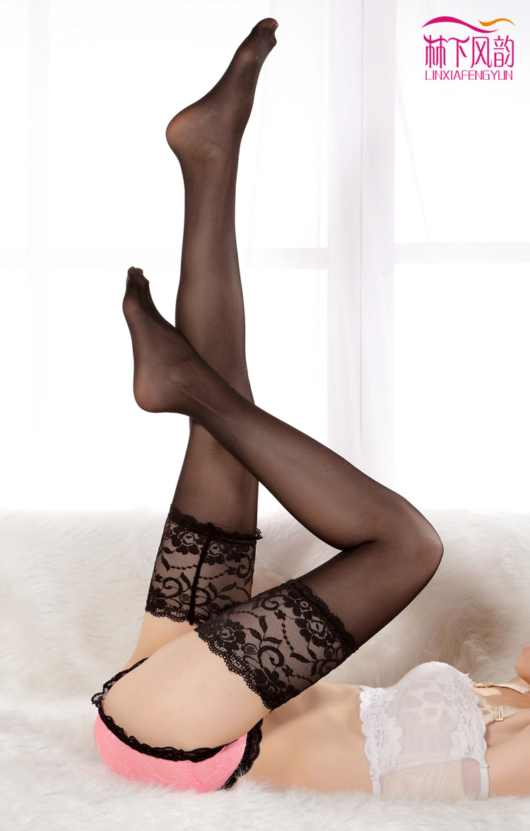 Wide hips stockings and garter really. agree