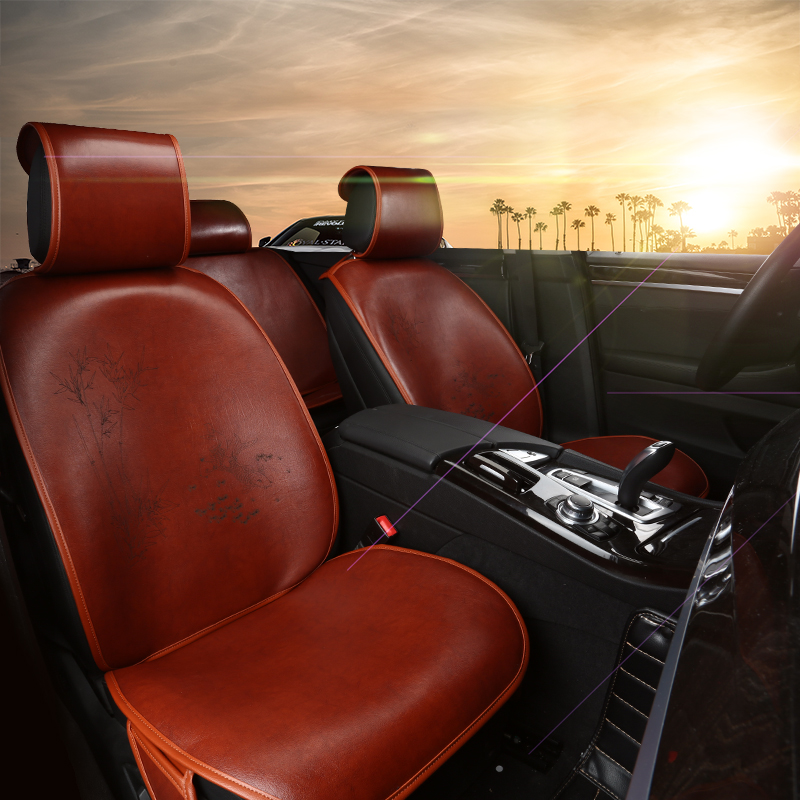 Upscale embroidery angke sierra mazda rui wing e tezi leather car seat cushion four seasons special leather upholstery