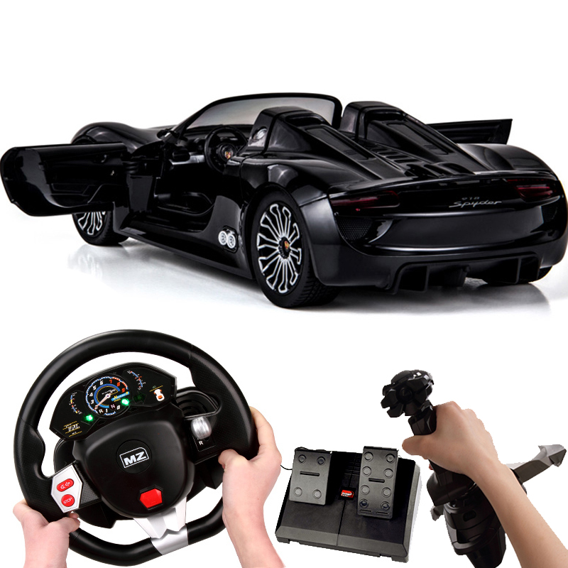 Us caused porsche gravity sensing steering wheel remote control car charging electric car racing boy toys for children