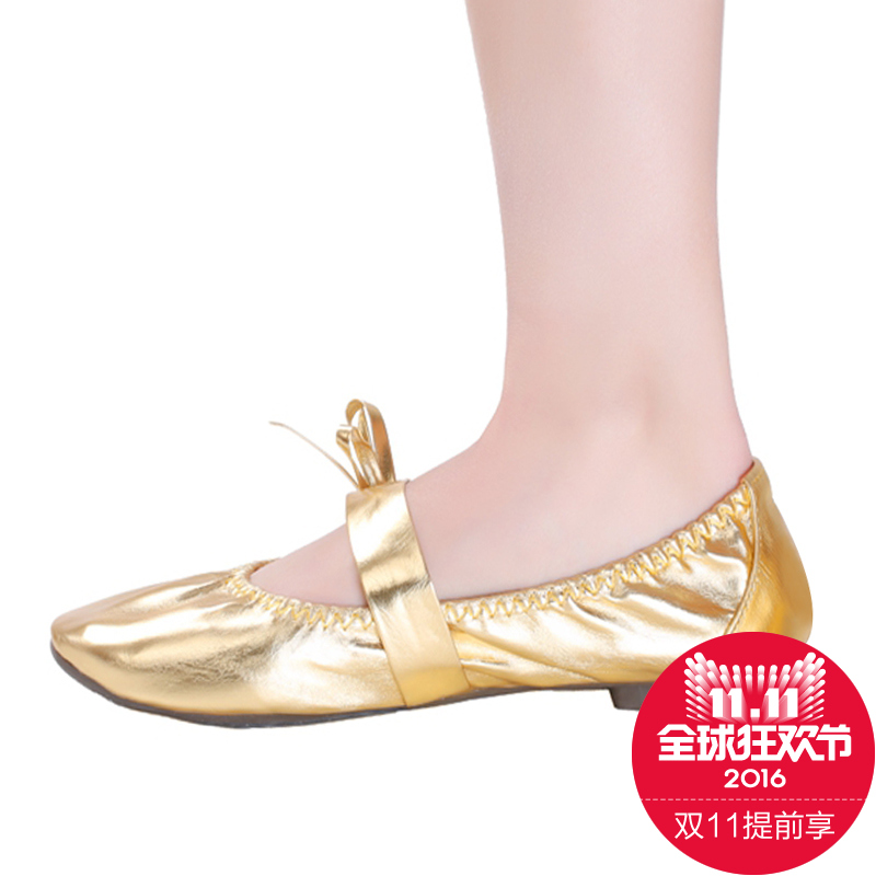Us department of style belly dance shoes new spring and summer dance shoes belly dance practice shoes soft bottom shoes women gold