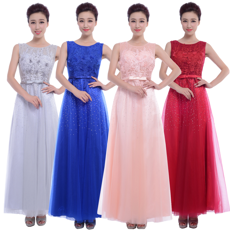 Us department of style big middle-aged clothing costume costumes female chorus chorus chorus costumes custom dress